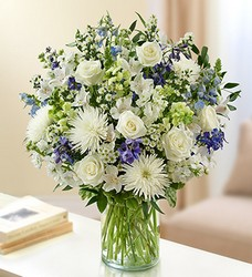 Ultimate Elegance Blue and White Flower Power, Florist Davenport FL